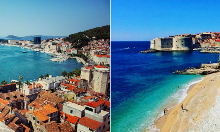 Split & Dubrovnik Named on Europe's Best 16 Beach Cities List
