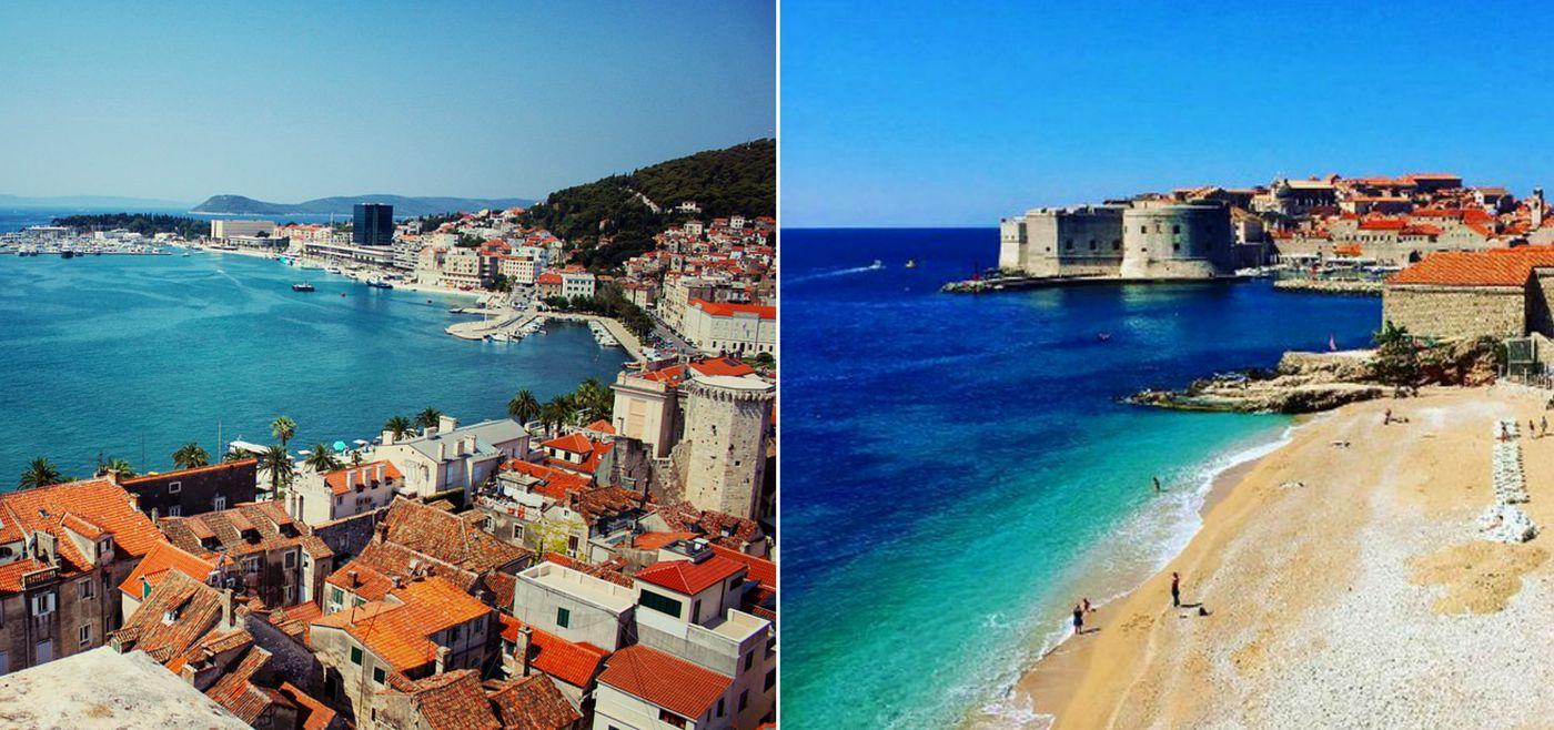 Split & Dubrovnik Named on Europe's Best 16 Beach Cities List