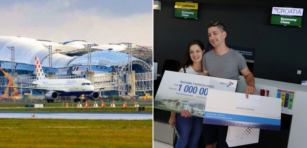 Zagreb Airport Notches 1 Million Passengers in Record Time