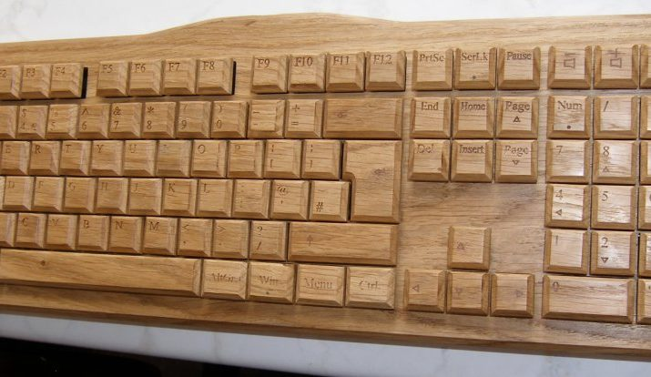 Crolander Wooden Keyboards from Croatia