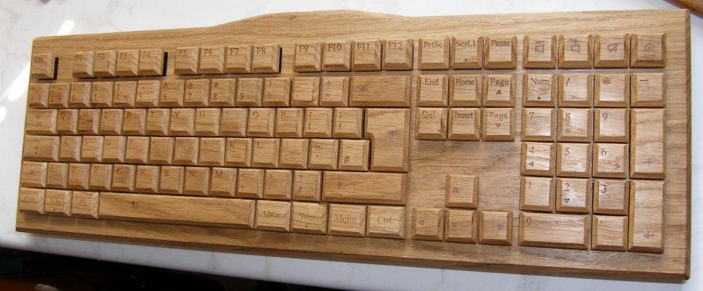 Crolander Wooden Keyboards from Croatia