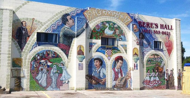 Large Croatian Mural to be Unveiled in America this Weekend