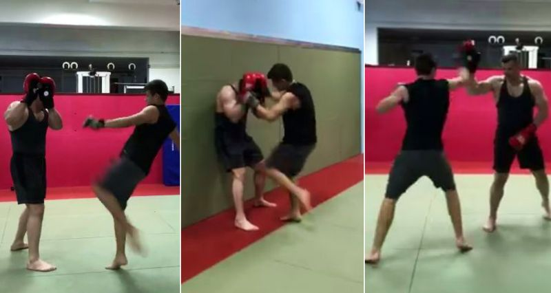 [VIDEO] Cro Cop's Son Following in his Father's Footsteps