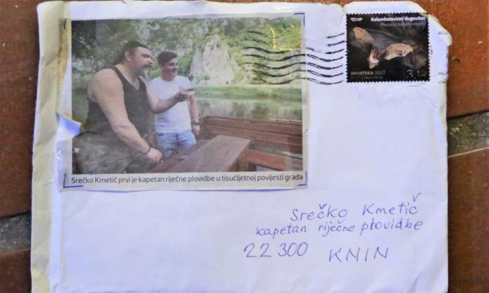 Letter with No Address Just a Photo Delivered in Croatia