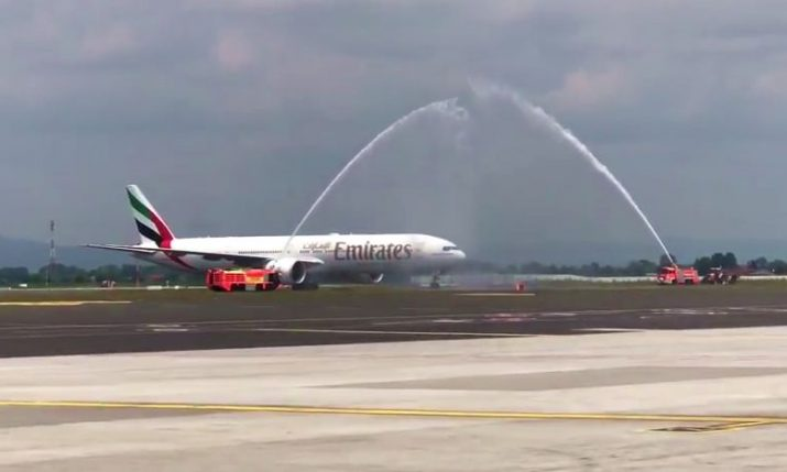 [VIDEO] First Emirates Flight Lands in Croatia