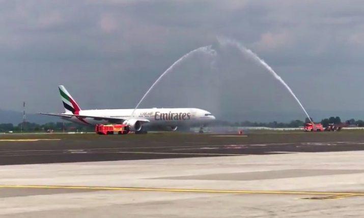 [VIDEO] First Emirates Flight Lands in Croatia