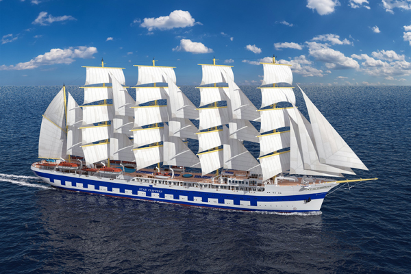 World's Biggest Sailing Ship Launched in Split