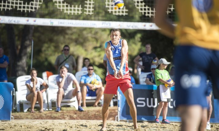 [VIDEO] Croatia Star Ivan Perišić Makes International Beach Volleyball Debut