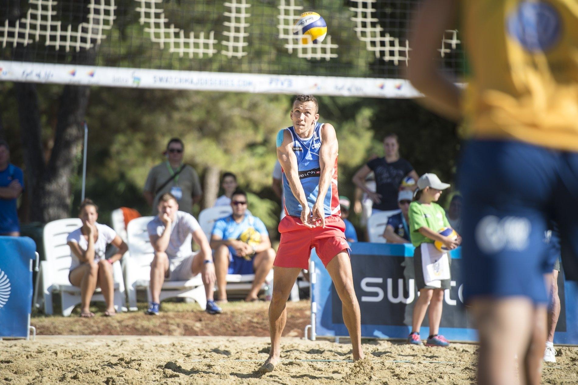 [VIDEO] Croatia Star Ivan Perišić Makes International Beach Volleyball Debut