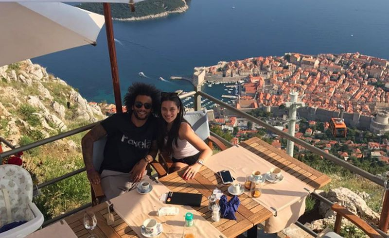 [PHOTO] Real Madrid & Brazil Star Marcelo Holidaying in Dubrovnik