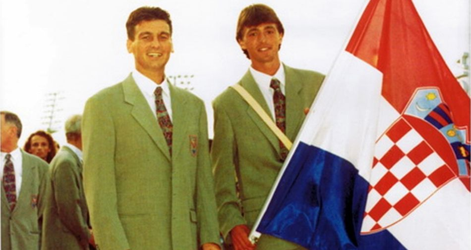 Croatia at the Olympic Games for First Time as Independent Nation 25 Years Ago Today