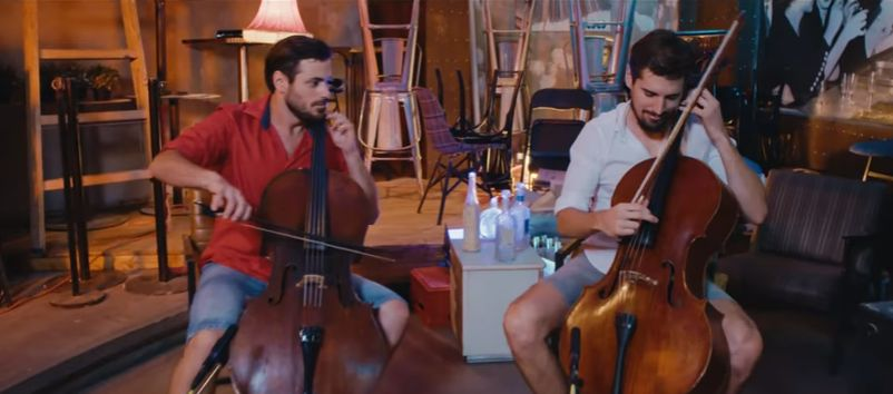 [VIDEO] 2CELLOS Have Fun with Song of the Summer – Despacito