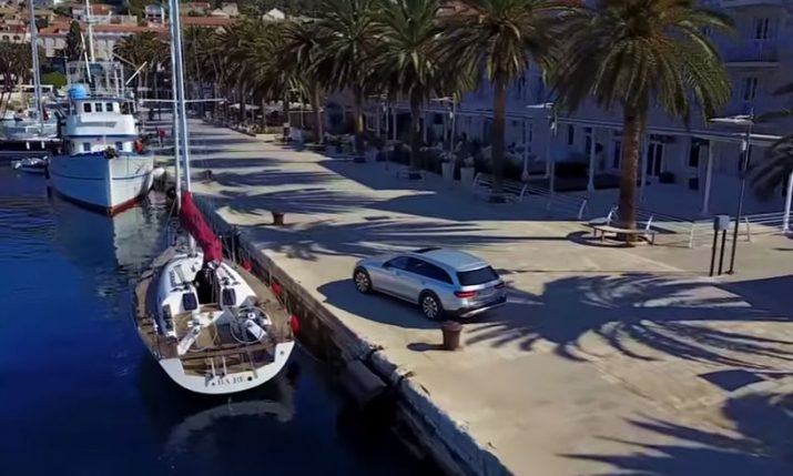 [VIDEO] Mercedes-Benz Shoot Commerical on Hvar Island