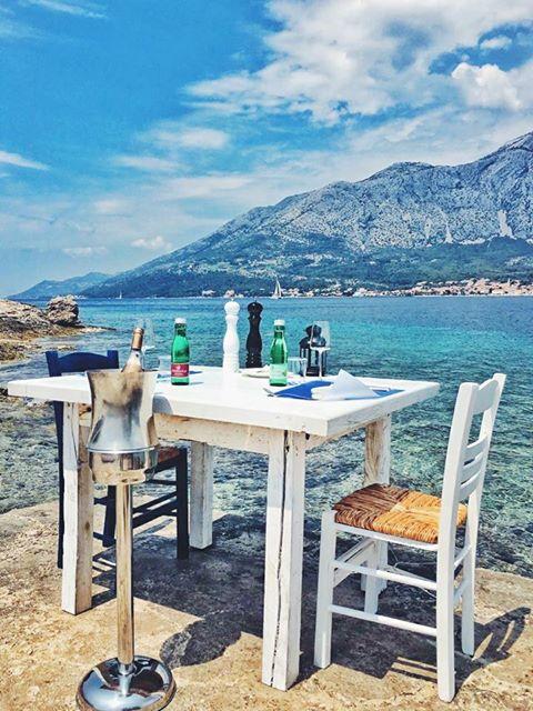 New Beach Bar On Small Island Near
