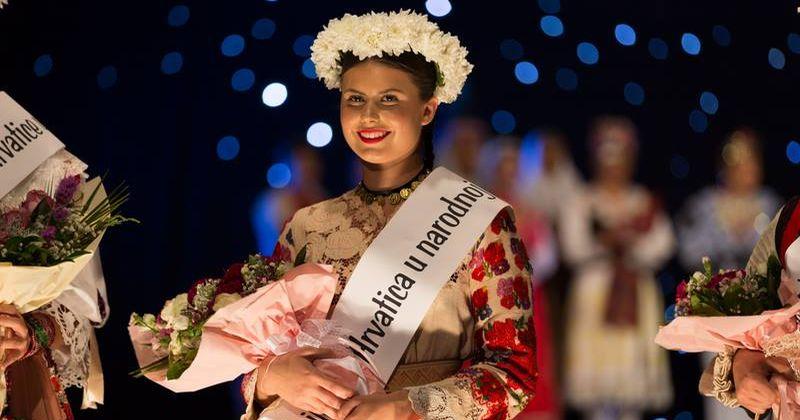 Andrea Radman from Sweden Crowned Most Beautiful Croatian in National Folk Costume Outside of Croatia