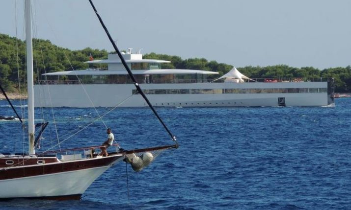 [PHOTOS] Steve Jobs' Luxury Super Yacht 'Venus' Arrives in Dubrovnik