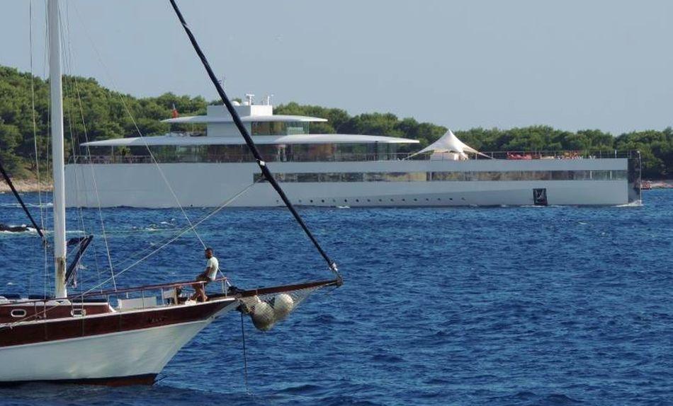 PHOTOS Steve Jobs Luxury Super Yacht Venus Arrives In Dubrovnik