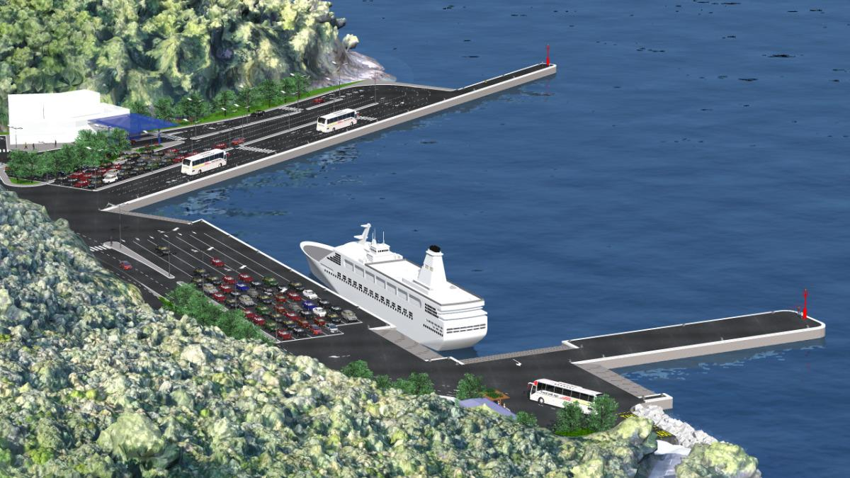 [PHOTO] New €10 Million Port for Korčula Island Design Presented