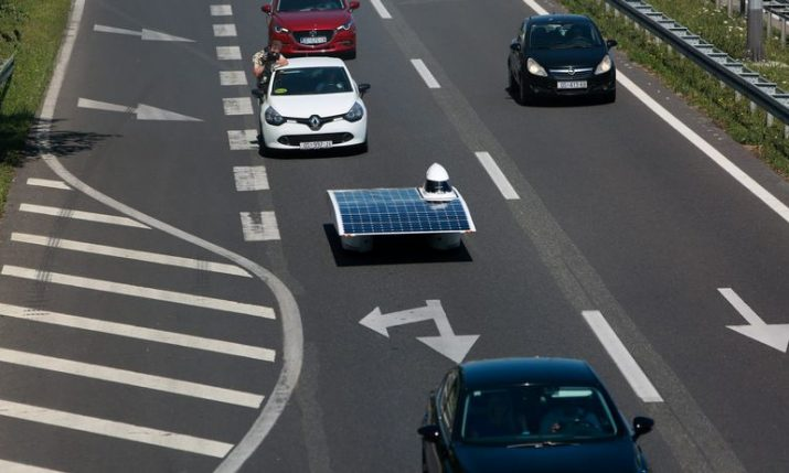 [PHOTOS] First Croatian Solar Car Debuts on the Road