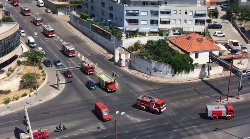 [VIDEO] Fire Crews Leave Split with Honour Procession