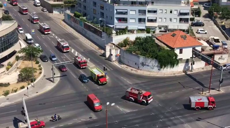 [VIDEO] Fire Crews Leave Split with Honour Procession