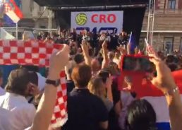 [VIDEO] Hero's Welcome for Water Polo World Champs in Zagreb