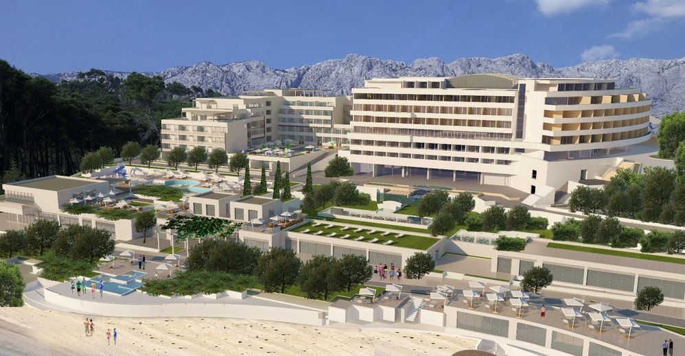 [PHOTOS] New €50 Million Hotel to Open on Dalmatian Coast