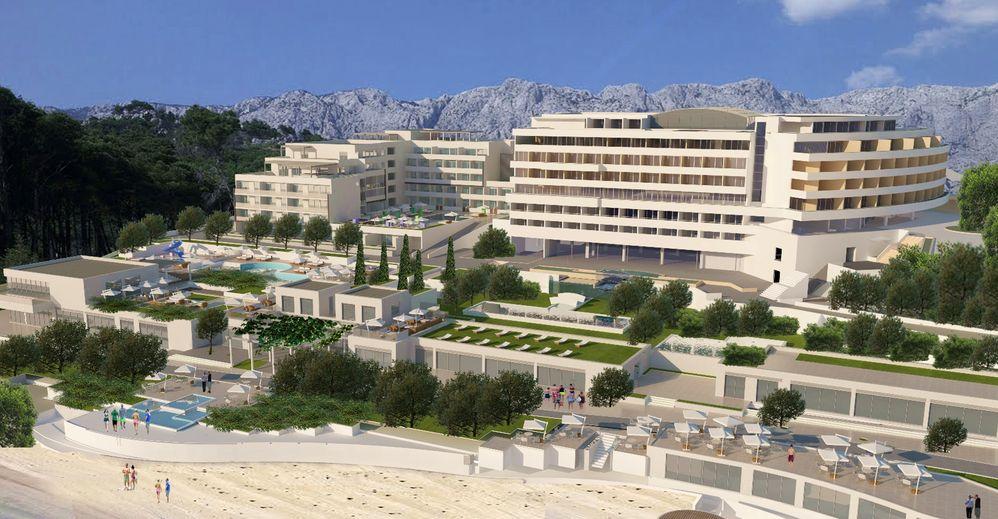 [PHOTOS] New €50 Million Hotel to Open on Dalmatian Coast