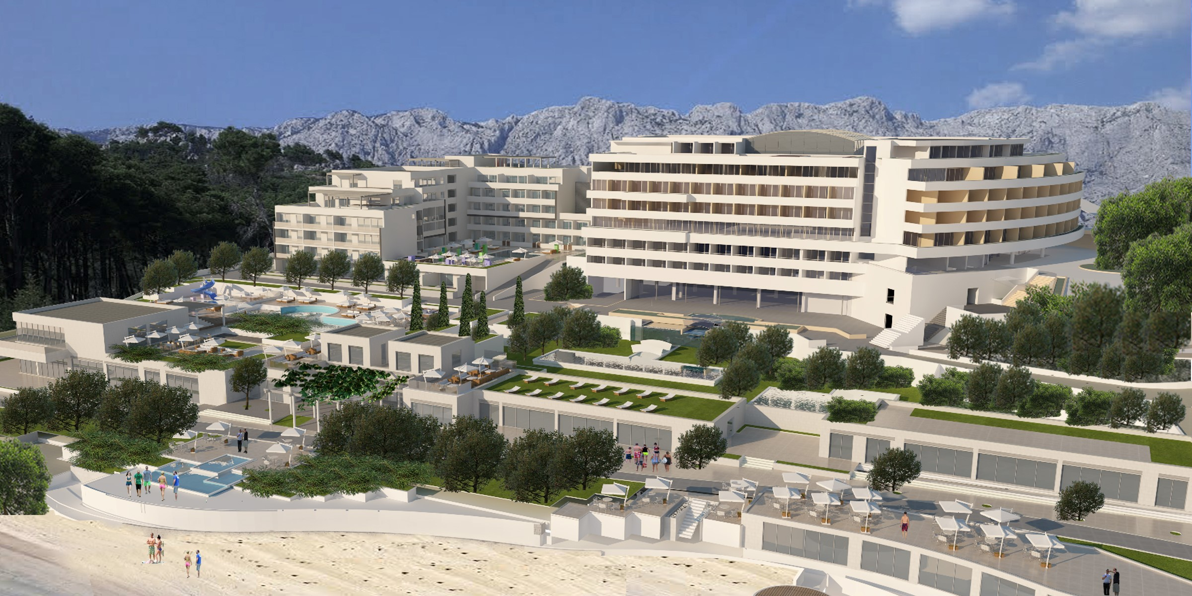 Photos New 50 Million Hotel To Open On Dalmatian Coast