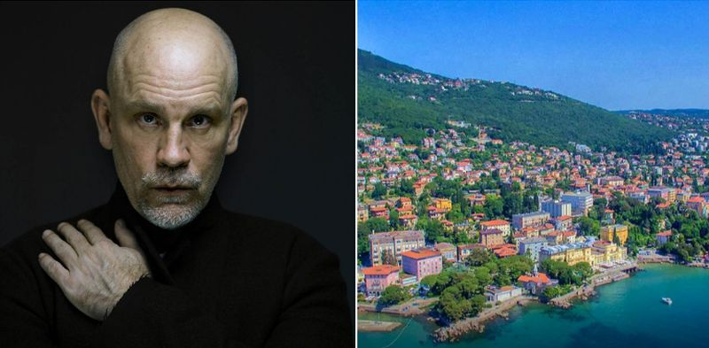 John Malkovich Holidaying in Opatija: 'My Heaven on Earth'