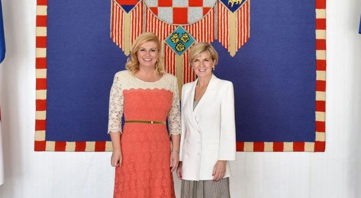 Croatian President to Visit Australia Next Month