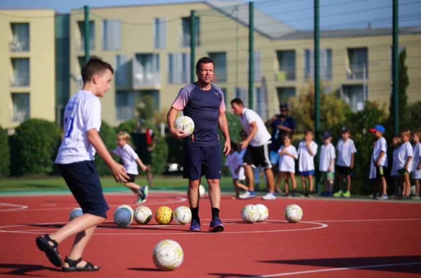 German Football Legend to Coach Kids in Croatia for Free