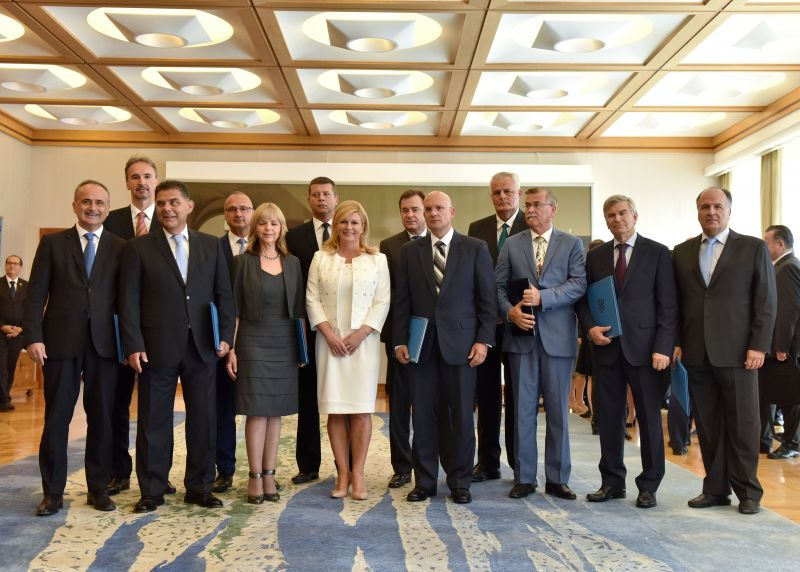 12 New Croatian Ambassadors Posted Around the World