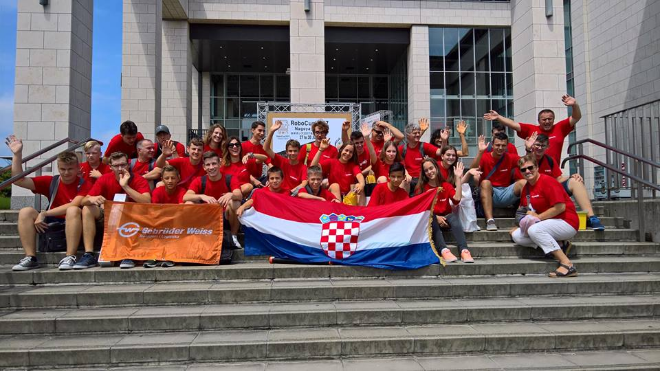 Croatia Bring Home 3 Golds from RoboCup 2017 in Japan