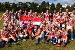 Croatian Aussie Rules Team Winners at AFL International Cup in Melbourne