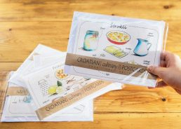 Croatian Culinary Postcards – Souvenir & Recipe in One