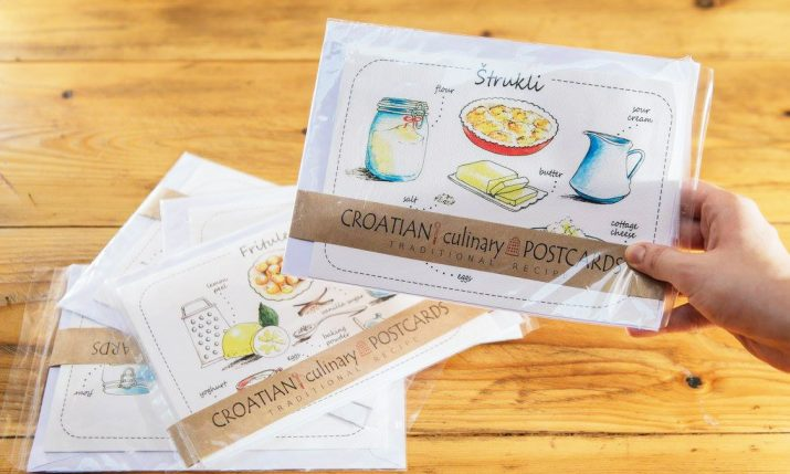 Croatian Culinary Postcards – Souvenir & Recipe in One
