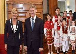 Croatian President Concludes State Visit to New Zealand with Prime Minister Meeting in Wellington