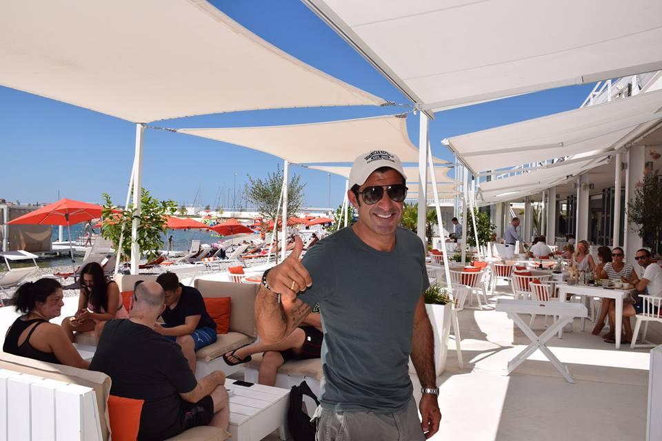 [PHOTO] Football Legend Luis Figo Enjoying Croatian Holiday