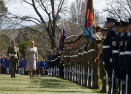 Croatian President Meets Australia's Prime Minister in Canberra