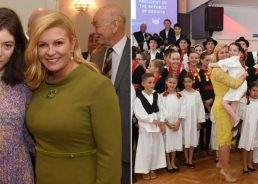 Croatian President Meets NZ's Croatian Community Including Lorde