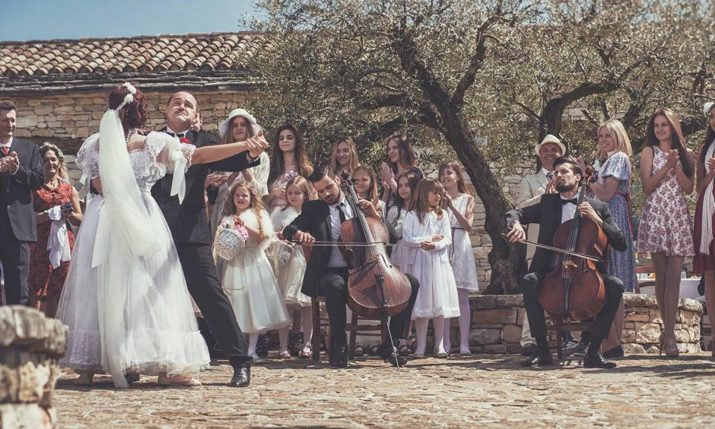 [PHOTOS] 2CELLOS Star Ties The Knot