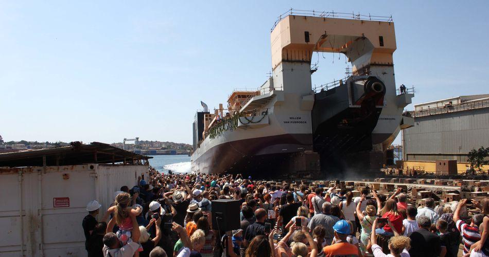 Croatian Shipyard Launches World's Most Powerful Dredger