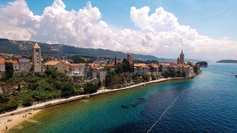Хорватия. Пореч. Море