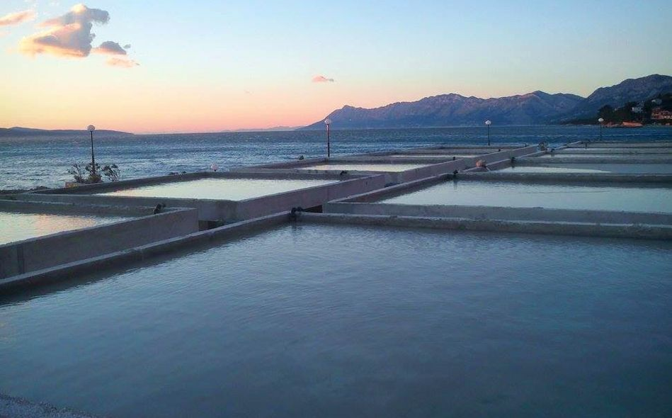 Unique Wind-Powered Salt Pans in Makarska