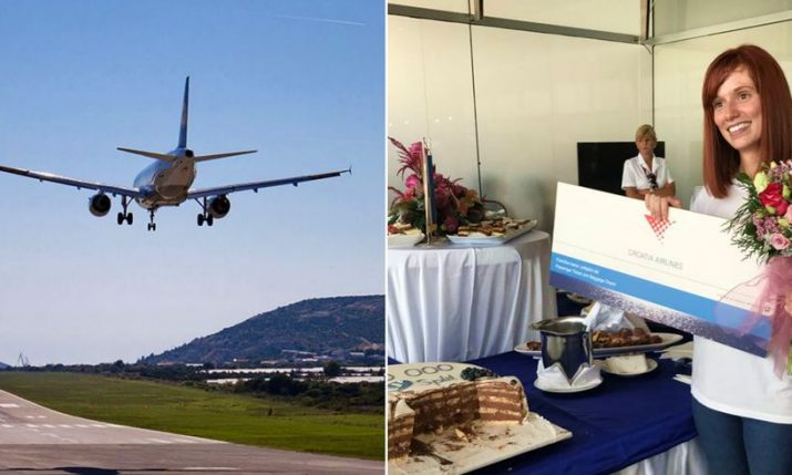 2 Millionth Passenger Arrives at Split Airport