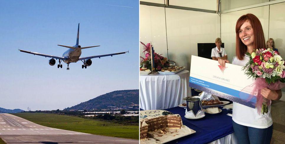 2 Millionth Passenger Arrives at Split Airport