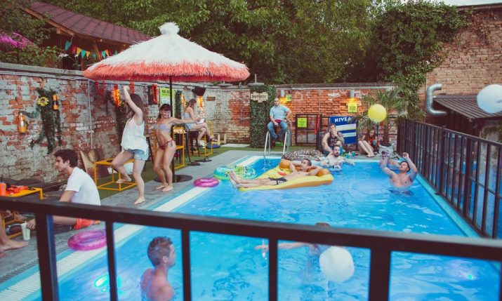 Coolest Pool Party in Town @ Swanky Monkey Garden