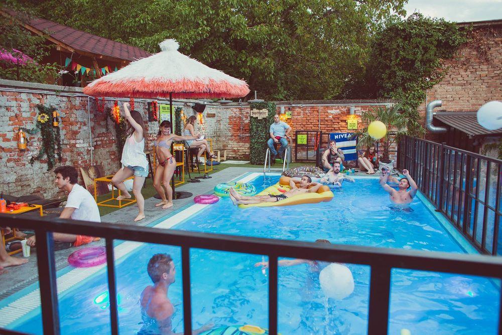 Coolest Pool Party in Town @ Swanky Monkey Garden