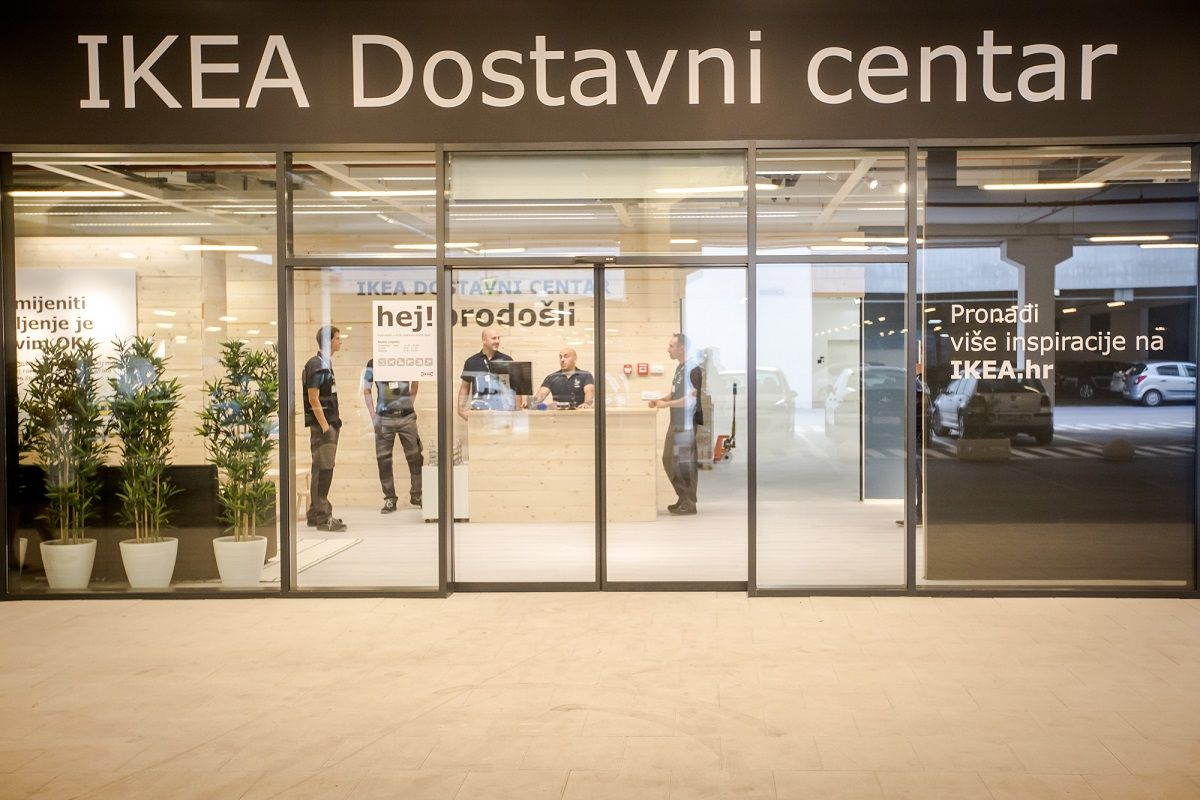 Ikea opens today in split croatia week for Does ikea deliver same day